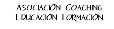 Asociación Coaching Educación Formación, ACEF logo oficial letras