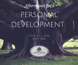 Tardes de Desarrollo Personal y Emprendimiento Social para todo ESO.