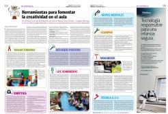 REPORTAJE DESARROLLO PENSAMIENTO CREATIVO