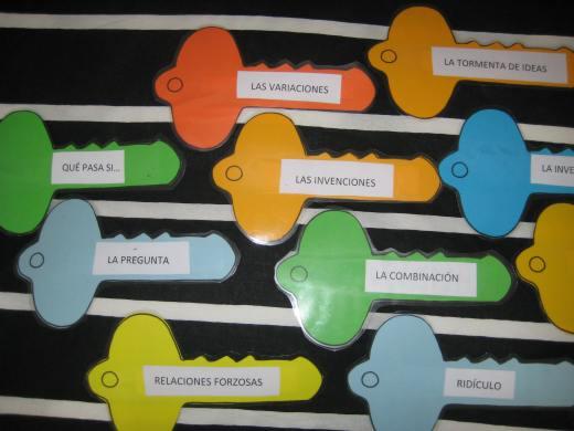 Algunas de las llaves de Tony Ryan. Las llaves del pensamiento, Tony Ryan, Thinkers Keys, rutinas del pensamiento, proceso creativo, desarrollo del pensamiento crítico, desarrollo del pensamiento creativo, metáfora, pensamiento crítico y creativo, destrezas del pensamiento, Robert J. Swartz, Arthur L. Costa, Rebecca Reagan, Aprendizaje Basado en el Pensamiento, Thinking Based Learning, educación integral, brainstorming, Alex Faickney Osborn, Teaching Thinking, enseñanza de las destrezas del pensamiento, Albert Camus, acompañamiento, acompasamiento, coaching educativo,