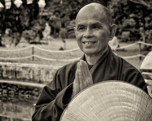 Thich Nhat Hanh, maestro zen y monje budista. Mindfulness en Educación.