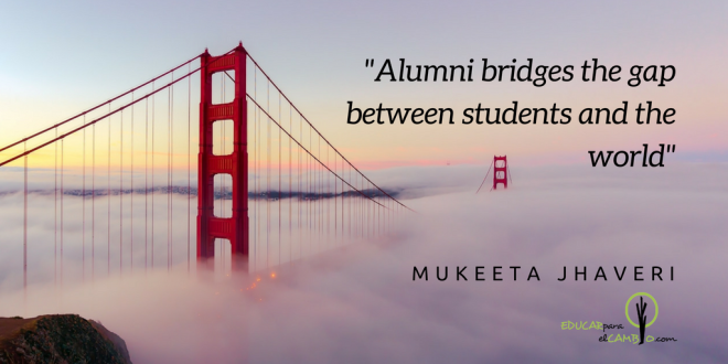 Alumni bridges the gap between students and the world