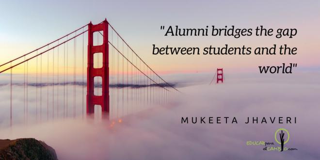 Alumni bridges the gap between students and the world
