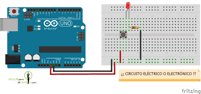 ¿circuito eléctrico o electrónico?