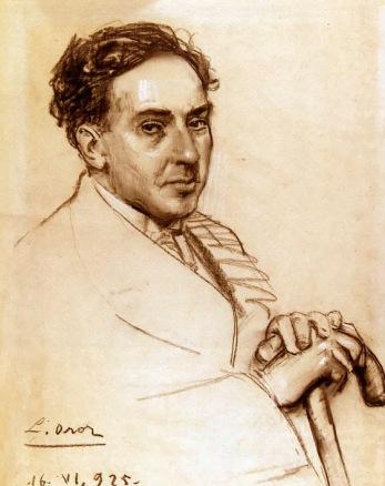 Antonio Machado por Leandro Oro (1925)