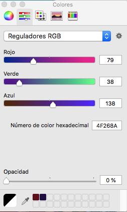 Mezclador colores primarios RGB