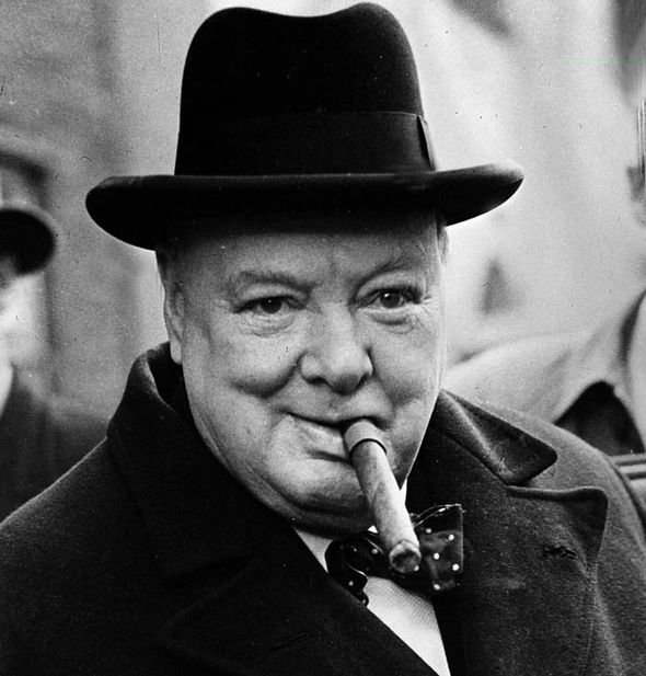 Winston Churchill y optimismo
