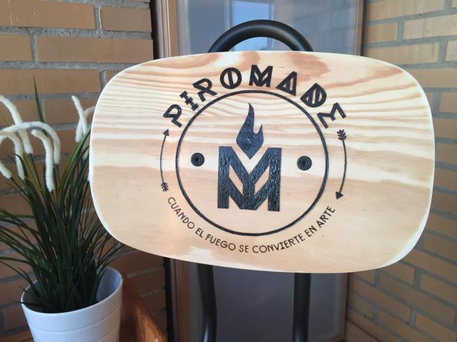 Silla Ikea Pirograbada para Piromade 02